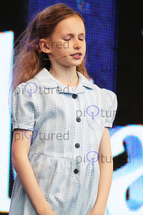 LONDON - June 22: Matilda at West End Live 2013 (Photo by Brett D. Cove)