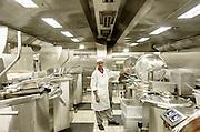 Royal Caribbean, Harmony of the Seas, the three stores kitchen for the main restaurants