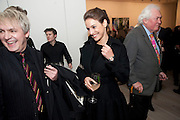 "NICK RHODES; MARY-LOUISE STOFFEL , Launch party for a very large limited Edition of  ""The History of the Saatchi Gallery ""edited by Booth Clibborn and published by Kraken Opus. Saatchi Gallery,  The Kings Road. London. 26 November 2009"