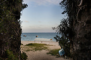 Naha, Okinawa prefecture, December 5 2015 - Mibaru beach