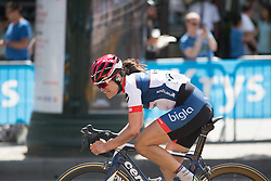 Joelle Numainville (CAN) of Cervélo-Bigla Cycling Team the La Course, a 89 km road race in Paris on July 24, 2016 in France.