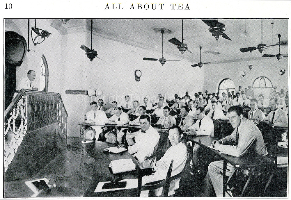 All About Tea. Colombo auction.