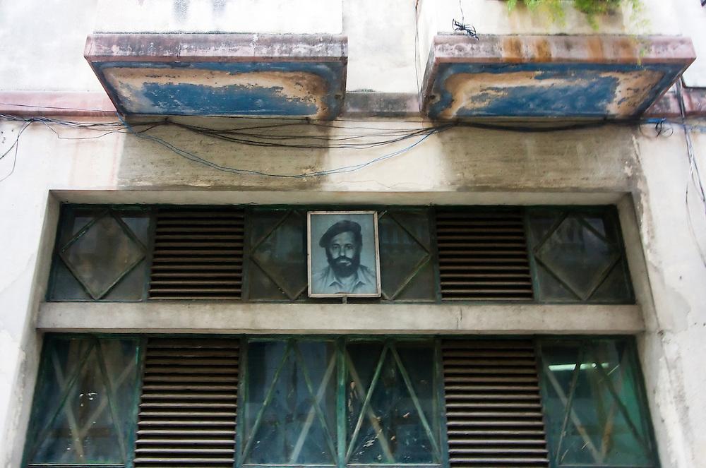 Window in Havana Centro, Cuba.