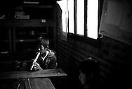 Larsen Ranch, Caraparicito (Ronal Larsen sunglasses)(school in ranch)