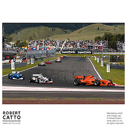 Jeroen Bleekemolen at the A1 Grand Prix of New Zealand at the Taupo Motorsport Park, Taupo, New Zealand.