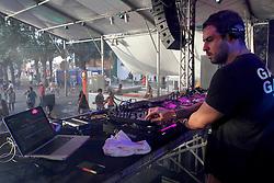 Branko Von Holleben no palco E-planet do Planeta Atlântida 2013/RS, que acontece nos dias 15 e 16 de fevereiro na SABA, em Atlântida. FOTO: Marcos Nagelstein/Preview.com