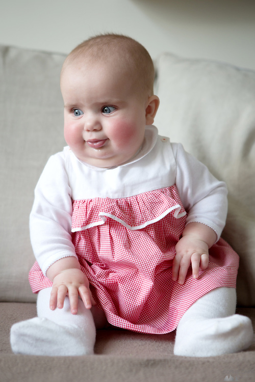 Rosie at 6 months' old