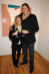 LAURIE PERCEPIED and ALEX FIELD at an exhibition of artist Natasha Law's work entitled 'Room' hosted by the Eleven gallery in association with Ruinart champagne at 121 Charing Cross Road, London WC2 on 16th January 2008.  Following the private view a dinner was held at Soho House hosted by Ruinart.<br /> <br />  (EMBARGOED FOR PUBLICATION IN UK MAGAZINES UNTIL 1 MONTH AFTER CREATE DATE AND TIME) www.donfeatures.com  +44 (0) 7092 235465