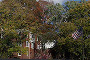 Fall on the Ohio University campus on October 4, 2013.