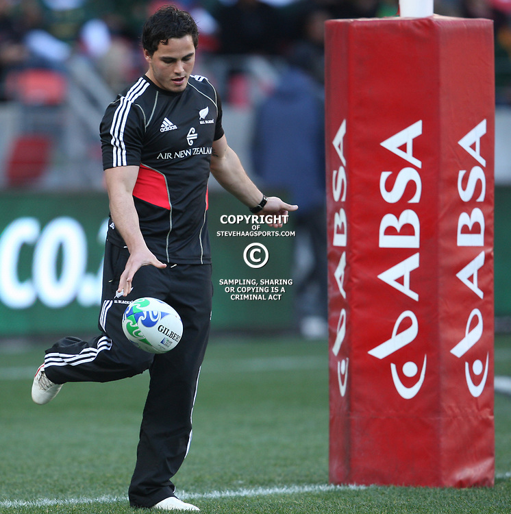 PORT ELIZABETH, SOUTH AFRICA - AUGUST 20, Zachary Guildford during the Castle Lager Tri Nations match between South Africa and New Zealand from Nelson Mandela Bay Stadium on August 20, 2011 in Port Elizabeth, South Africa<br /> Photo by Steve Haag / Gallo Images