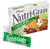 nutri grain cereal bars apple cinnamon