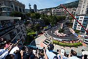 May 24-27, 2017: Monaco Grand Prix. Stoffel Vandoorne (BEL), McLaren Honda, MCL32, start of the monaco grand prix