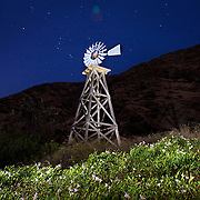 Santa Cruz Island Windmill, Channel Islands National Park