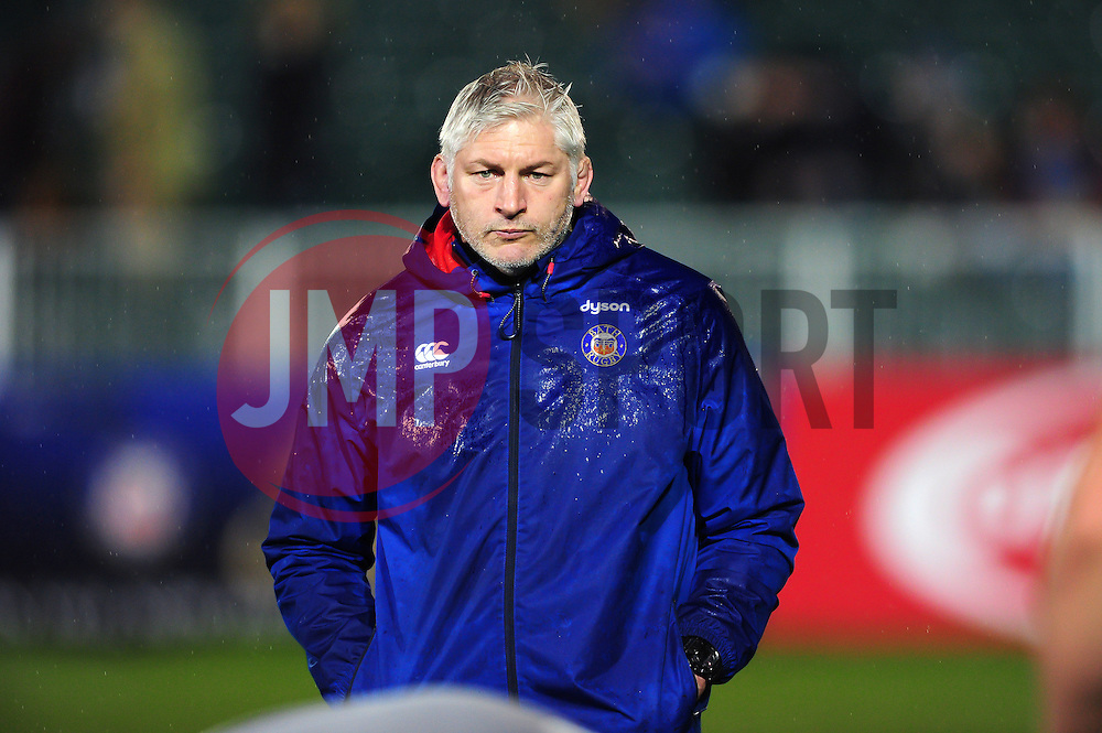 Bath Director of Rugby Todd Blackadder - Mandatory byline: Patrick Khachfe/JMP - 07966 386802 - 27/01/2017 - RUGBY UNION - The Recreation Ground - Bath, England - Bath Rugby v Gloucester Rugby - Anglo-Welsh Cup.