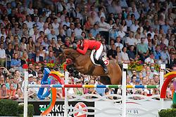 Estermann, Paul (SUI), Castlefield Eclipse<br /> Aachen - Europameisterschaften 2015<br /> Springen Finale Einzelwertung<br /> © www.sportfotos-lafrentz.de/Stefan Lafrentz