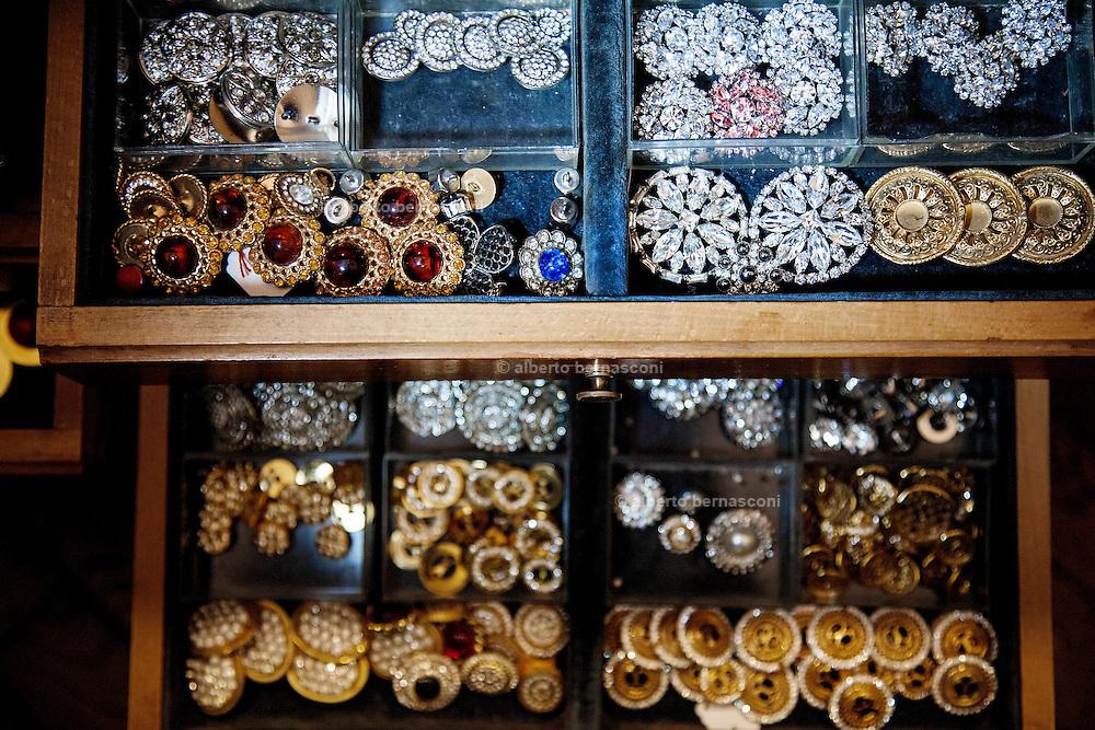 Milan, Button factory http://www.re-accessorimoda.it/