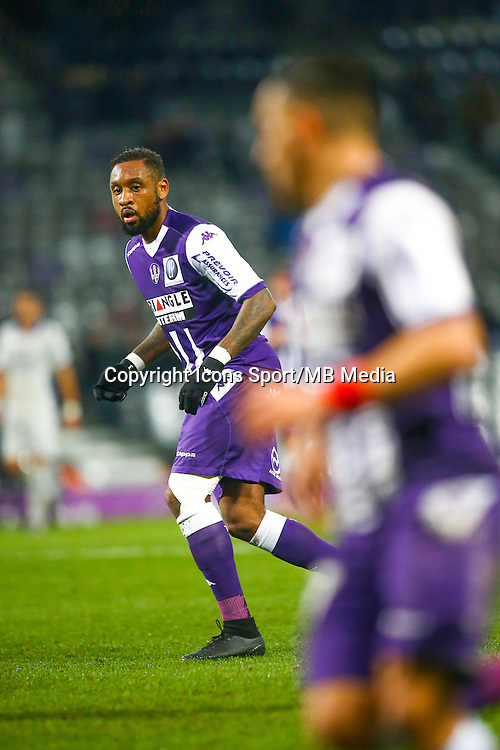 Jean Armel Kana Biyik  - 17.01.2015 - Toulouse / Bastia - 21eme journee de Ligue 1<br /> Photo : Manuel Blondeau / Icon Sport