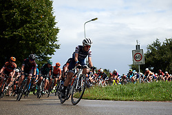 Trixi Worrack (GER) leads the bunch at Boels Ladies Tour 2019 - Stage 2, a 113.7 km road race starting and finishing in Gennep, Netherlands on September 5, 2019. Photo by Sean Robinson/velofocus.com