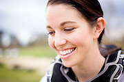 BMX Champion Sarah Walker, photographed for Red Bulletin magazine at the Cambridge BMX track.