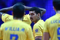 Barreto Eduardo BRA.<br /> Torino 28-09-2018 Pala Alpitour <br /> FIVB Volleyball Men's World Championship <br /> Pallavolo Campionati del Mondo Uomini <br /> Third round<br /> Brasile - Usa / Brazil - USA<br /> Foto Antonietta Baldassarre / Insidefoto