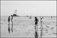 Pakistan, Karachi, Clifton beach. // Pakistan, Karachi, Clifton beach.