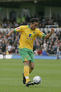 Bristol - Saturday May 1st, 2010: Substitute Oli Johnson of Norwich City scores his side's second goal during the Coca Cola League One match at The Memorial Stadium, Bristol. (Pic by Mark Chapman/Focus Images)..