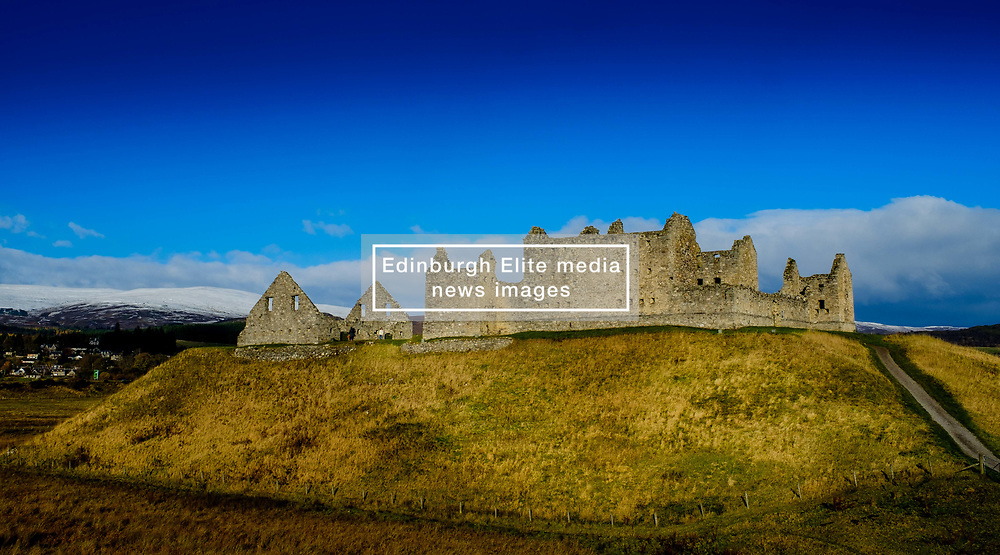 Ruthven Barracks, near Ruthven in Badenoch, Scotland, are the smallest but best preserved of the four barracks built in 1719 after the 1715 Jacobite rising.<br /> (c) Andrew Wilson | Edinburgh Elite media