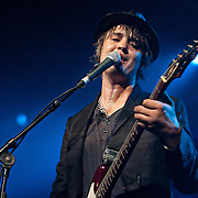 The notorious ex Libertines frontman Pete Doherty returns to Glasgow with Babyshambles to play Glasgow's world famous Barrowlands (PLEASE DO NOT REMOVE THIS CAPTION)<br />