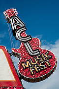 The main entrance of the Austin City Limits Music Festival 2009, Austin Texas, September 30, 2009.  The Austin City Limits Music Festival is an annual three-day music festival in Austin, Texas's Zilker Park.