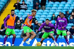 Lloyd Kelly of Bristol City and Jack Hunt of Bristol City warm up - Mandatory by-line: Robbie Stephenson/JMP - 24/11/2018 - FOOTBALL - Elland Road - Leeds, England - Leeds United v Bristol City - Sky Bet Championship