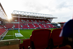 A general view of Ashton Gate  prior to kick off - Mandatory by-line: Ryan Hiscott/JMP - 18/10/2019 - RUGBY - Ashton Gate - Bristol, England - Bristol Bears v Bath Rugby - Gallagher Premiership Rugby
