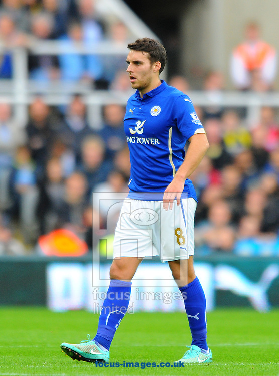 Matthew James of Leicester City during the Barclays Premier League match at St. James's Park, Newcastle<br /> Picture by Greg Kwasnik/Focus Images Ltd +44 7902 021456<br /> 18/10/2014
