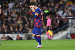 November 5, 2019, Barcelone, Espagne: FOOTBALL: FC Barcelone vs SK Slavia Praha - Champions League - 05/11/2019.Lionel Messi (Credit Image: © Panoramic via ZUMA Press)