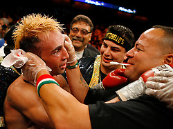 June 16, 2007; Uncasville, CT; USA; Paulie Malignaggi defeats Lovemore N'dou via 12 round decision at the Mohegan Sun Arena in Uncasville, CT.