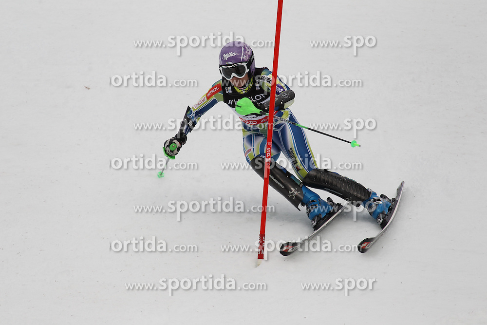 11/02/2011 GAP 2011 - FIS ALPINE WORLD SKI CHAMPIONSHIPS .MAZE Tina .© Photo Pierre Teyssot / Sportida.com.