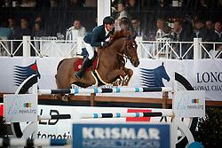 Delestre Simon, (FRA), Ryan Des Hayettes <br /> Global Champions Tour Antwerp 2016<br /> © Hippo Foto - Dirk Caremans<br /> 23/04/16