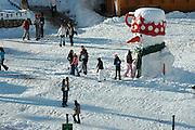 Israel, Hermon Mountain giant Snowman