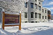 Kellogg-Hubbard Libary, Montpelier, Vermont
