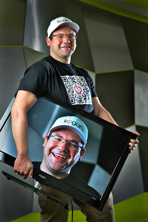 Ruslan Kogan sells TVs on the internet, he's the richest Australian under 30. Pic By Craig Sillitoe CSZ/The Sunday Age.8/3/2012 melbourne photographers, commercial photographers, industrial photographers, corporate photographer, architectural photographers, This photograph can be used for non commercial uses with attribution. Credit: Craig Sillitoe Photography / http://www.csillitoe.com<br />