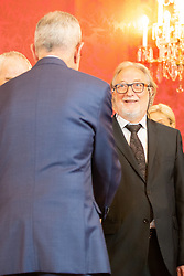 28.05.2019, Praesidentschaftskanzlei, Wien, AUT, Angelobung des interimistischen Bundeskanzler Hartwig Loeger und der Uebergangsregierung durch den Bundespräsidenten, im Bild Walter Poeltner// during commendation of the interim Chancellor Hartwig Loeger and the transitional government by the Federal President at the Federal Presidents Office in Vienna, Austria on 2019/05/27, EXPA Pictures © 2019, PhotoCredit: EXPA/ Florian Schroetter
