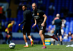 David Meyler of Hull City warms up - Photo mandatory by-line: Rogan Thomson/JMP - 07966 386802 - 16/05/2015 - SPORT - FOOTBALL - London, England - White Hart Lane - Tottenham Hotspur v Hull City - Barclays Premier League.