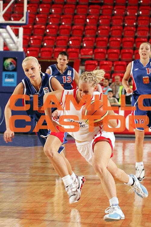 DESCRIZIONE : Ankara Eurobasket Women 2005 Rep Ceca-Russia Finale<br /> GIOCATORE : Uhrova<br /> SQUADRA : Repubblica Ceca Czech Republic<br /> EVENTO : Eurobasket Women 2005 Campionati Europei Donne 2005<br /> GARA : Repubblica Ceca Russia Czech Republic Russia<br /> DATA : 11/09/2005<br /> CATEGORIA :<br /> SPORT : Pallacanestro<br /> AUTORE : Ciamillo&amp;Castoria/Fiba Europe