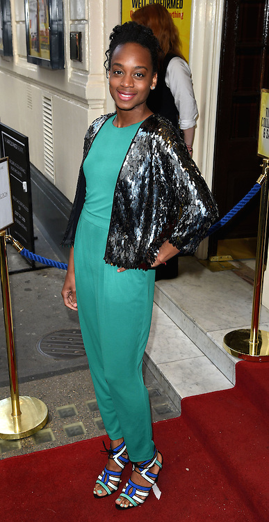 Ayanna Witter-Johnson attends Sunny Afternoon Gala Performance at The Harold Pinter Theatre, Panton Street, London on Monday 18 May 2015