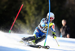as forerunner competes during Men's Slalom - Pokal Vitranc 2014 of FIS Alpine Ski World Cup 2013/2014, on March 9, 2014 in Vitranc, Kranjska Gora, Slovenia. Photo by Matic Klansek Velej / Sportida