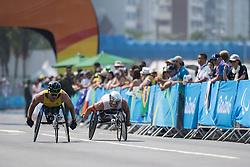 FEARNLEY Kurt, AUS, T52/53/54 Marathon, HUG Marcel, SUI at Rio 2016 Paralympic Games, Brazil