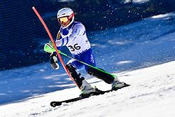 TAKAHASHI Kohei, LW9-2, JPN, Slalom at the WPAS_2019 Alpine Skiing World Cup, La Molina, Spain