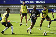 Training French national football team - 28 Aug 2017