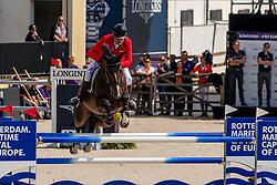 Raisch Matthias, AUT, Coleur Blue<br /> European Championship Jumping<br /> Rotterdam 2019<br /> © Hippo Foto - Dirk Caremans<br /> Raisch Matthias, AUT, Coleur Blue