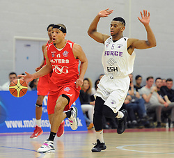 Bristol Flyers' Greg Streete - Photo mandatory by-line: Dougie Allward/JMP - Mobile: 07966 386802 - 18/04/2015 - SPORT - Basketball - Bristol - SGS Wise Campus - Bristol Flyers v Leeds Force - British Basketball League