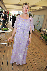 SARA PARKER BOWLES at a party to celebrate the publication on 'Let's Eat: Recipes From My Kitchen Notebook' by Tom Parker Bowles held at Selfridge's Rooftop. Selfridge's, Oxford Street, London on 27th June 2012.